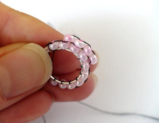 cirkular brick stitch