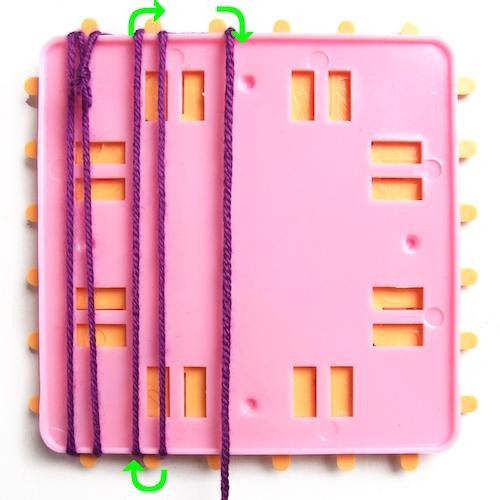 Návod na povlak na polštář z pletených čtverců - 4