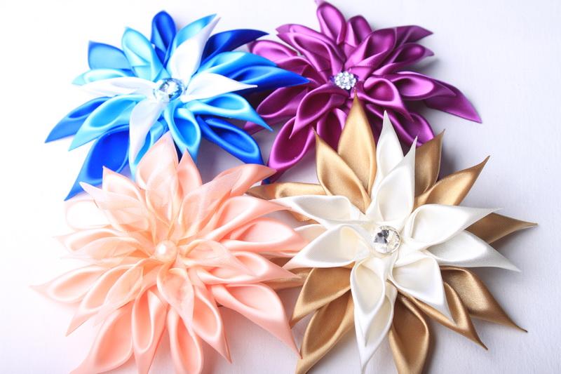 Návod na květ na plesové šaty