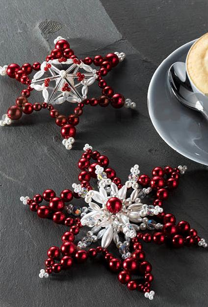 776c22eaa Nabízí skvěle propracované návody na vánoční hvězdy ve 3D technice. Vždy je  uveden potřebný materiál a fota s výslednými výrobky.