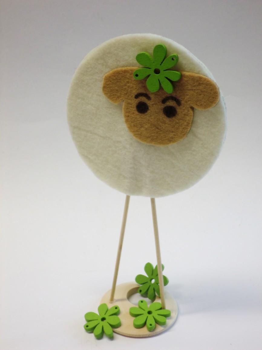 Velikonoční ovečka - návod