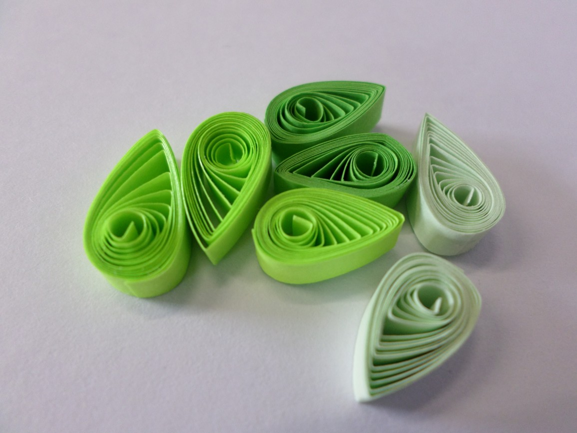 Quilling - strom 6