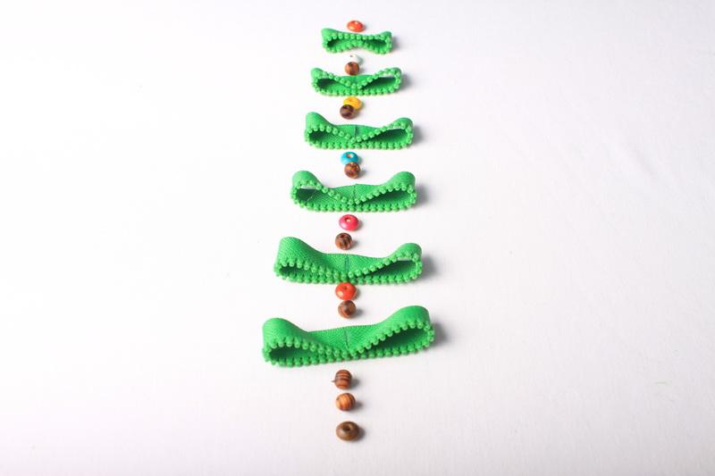 Návod na zipový vánoční stromeček - 6
