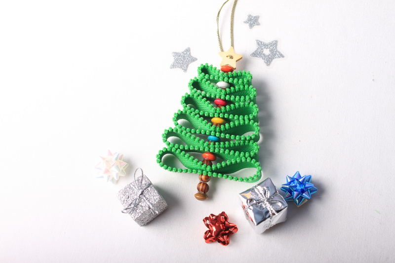 Návod na zipový vánoční stromeček - 11